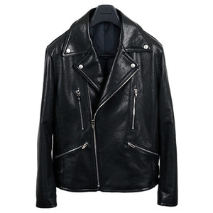 [2차 pre-order] <br> M01 Rider Jacket - Vegetable Leather
