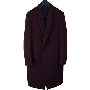[30% OFF] Crombie Coat - Deep Wine