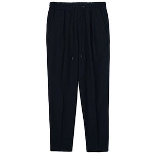 Banding Wool Pants - Navy